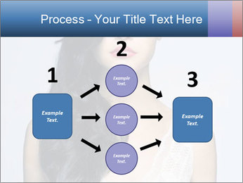 Woman measuring her body PowerPoint Templates - Slide 92