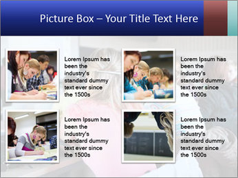 Pretty female PowerPoint Templates - Slide 14
