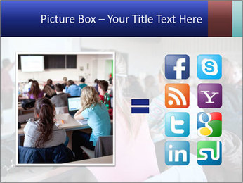 Pretty female PowerPoint Templates - Slide 21