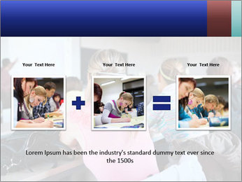 Pretty female PowerPoint Templates - Slide 22