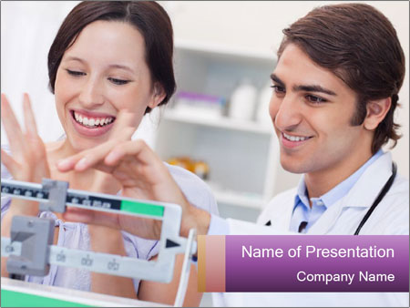 Excited patient PowerPoint Templates
