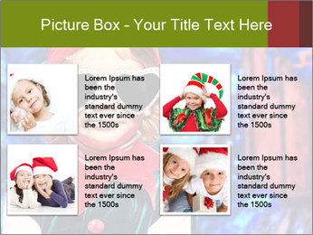 Little girl in Christmas elf costume PowerPoint Templates - Slide 14
