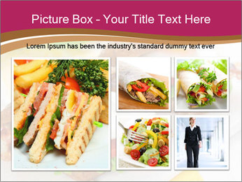 Fried egg PowerPoint Templates - Slide 19