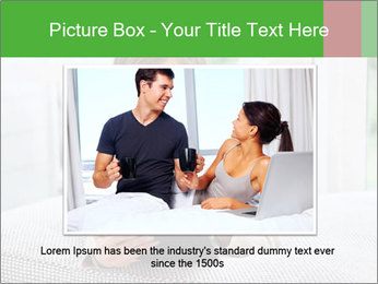 Woman using tablet pc PowerPoint Template - Slide 16