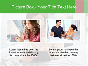 Woman using tablet pc PowerPoint Template - Slide 18