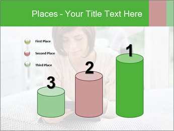 Woman using tablet pc PowerPoint Template - Slide 65