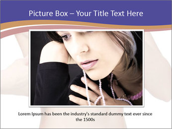 Female controlling breast PowerPoint Template - Slide 15