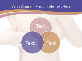 Female controlling breast PowerPoint Template - Slide 33