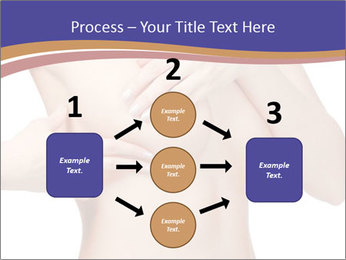 Female controlling breast PowerPoint Templates - Slide 92