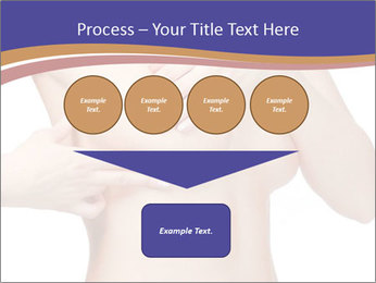 Female controlling breast PowerPoint Template - Slide 93
