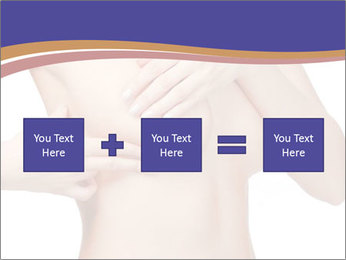 Female controlling breast PowerPoint Template - Slide 95