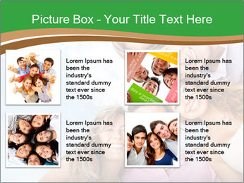 Friends smiling PowerPoint Template - Slide 14