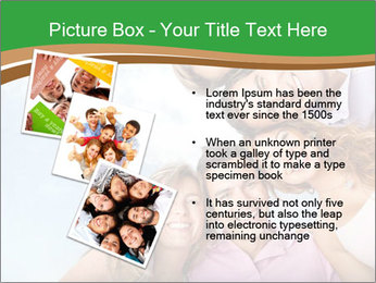 Friends smiling PowerPoint Template - Slide 17