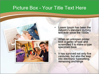 Friends smiling PowerPoint Template - Slide 20