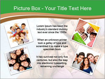 Friends smiling PowerPoint Template - Slide 24