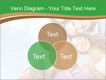 Friends smiling PowerPoint Template - Slide 33
