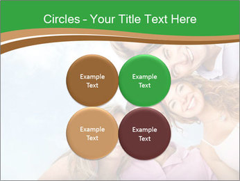 Friends smiling PowerPoint Template - Slide 38