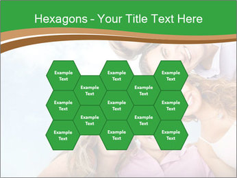 Friends smiling PowerPoint Template - Slide 44