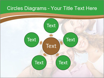 Friends smiling PowerPoint Template - Slide 78