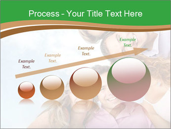 Friends smiling PowerPoint Template - Slide 87