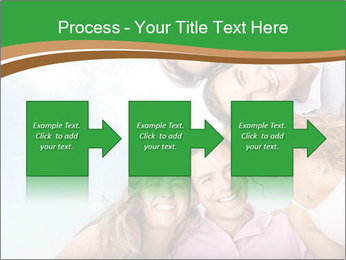 Friends smiling PowerPoint Template - Slide 88