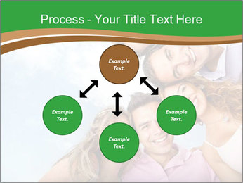 Friends smiling PowerPoint Template - Slide 91