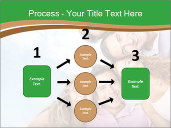 Friends smiling PowerPoint Template - Slide 92