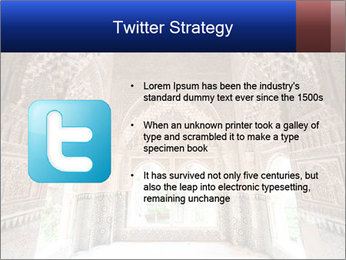 Patio of the lions room PowerPoint Templates - Slide 9