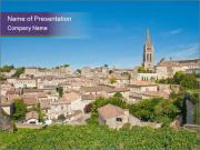 Central Saint-Emilion PowerPoint Templates