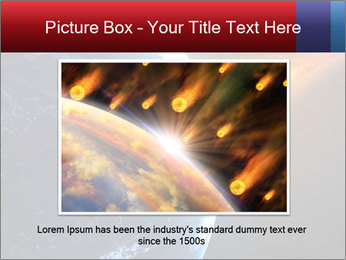 Asteroid falling PowerPoint Templates - Slide 16