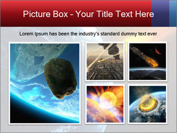 Asteroid falling PowerPoint Templates - Slide 19