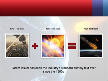 Asteroid falling PowerPoint Templates - Slide 22