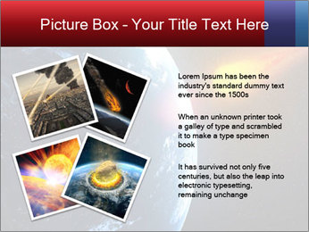 Asteroid falling PowerPoint Templates - Slide 23