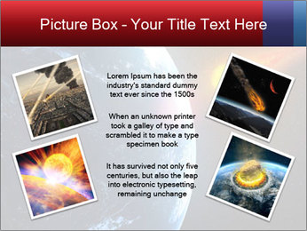Asteroid falling PowerPoint Templates - Slide 24
