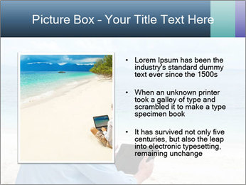 Business man sitting PowerPoint Templates - Slide 13