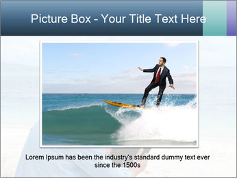 Business man sitting PowerPoint Templates - Slide 15