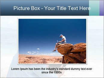 Business man sitting PowerPoint Templates - Slide 16