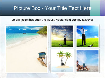 Business man sitting PowerPoint Templates - Slide 19