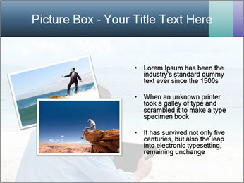 Business man sitting PowerPoint Templates - Slide 20