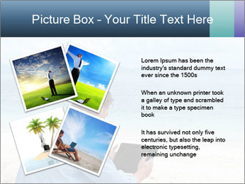 Business man sitting PowerPoint Templates - Slide 23