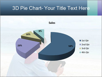 Business man sitting PowerPoint Templates - Slide 35