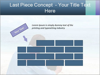 Business man sitting PowerPoint Templates - Slide 46