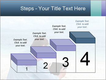 Business man sitting PowerPoint Templates - Slide 64