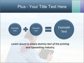 Business man sitting PowerPoint Templates - Slide 75