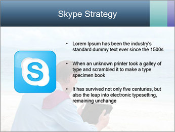 Business man sitting PowerPoint Templates - Slide 8