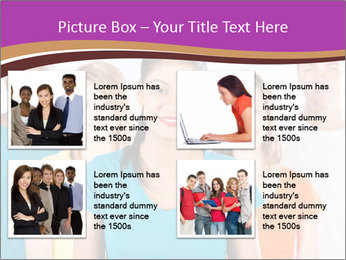 Multiracial people PowerPoint Template - Slide 14