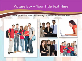 Multiracial people PowerPoint Template - Slide 19