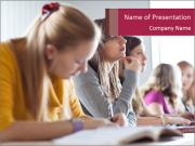 College student PowerPoint Templates