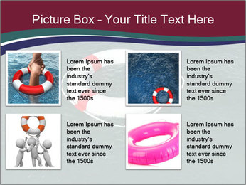 Lifebuoy PowerPoint Template - Slide 14