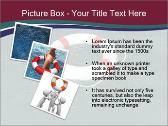 Lifebuoy PowerPoint Template - Slide 17
